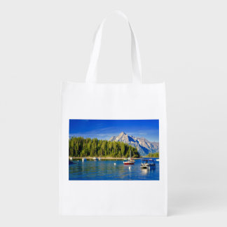 Reusable Shopping Bag Grand Tetons