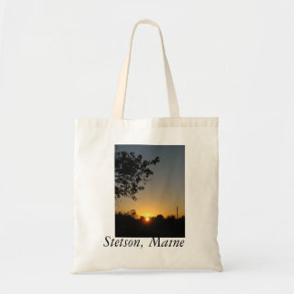Reusable Stetson Maine tote Budget Tote Bag