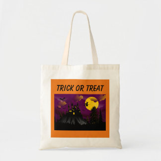 Reusable Trick or Treat Halloween Tote