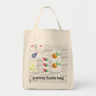 reusable yummy fruits bag