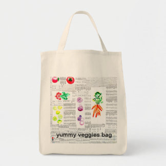 reusable yummy veggies bag