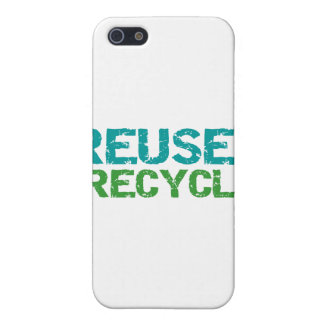 Reuse and Recycle and Gifts Case For iPhone 5