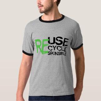 Reuse Recycle Responsible Tee Shirts