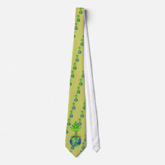 Reuse Reduce Recycle Tree Earth Globe Tie