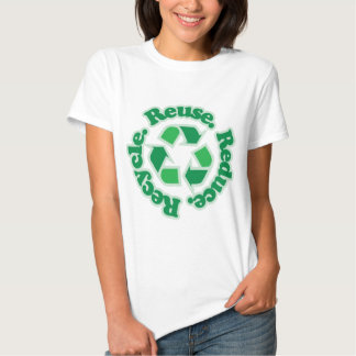 Reuse Reduce Recycle Tshirts