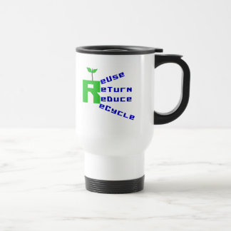 Reuse Return Reduce Recycle T-shirts and Gifts Coffee Mug