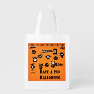 Reuseable Halloween Trick-or-Treat Bag
