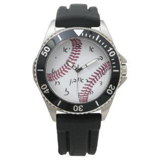 Reuven, Reuben Baseball Time Wristwatch