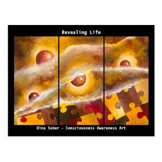 Revealing Life trio Dina Soker postcard