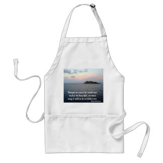 Revealing Light- Finding Beauty Aprons