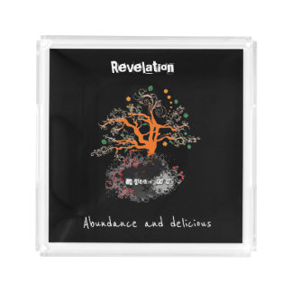 Revelation 22-2 acrylic tray
