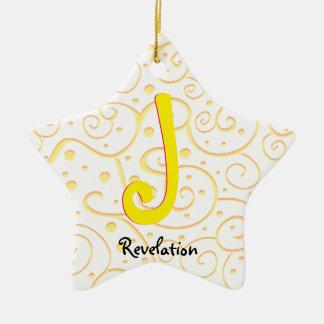 Revelation 22-2 ceramic ornament