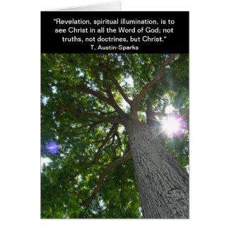 Revelation... Notecard