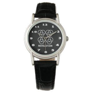 Revelation Women's Classic Black Leather Watch