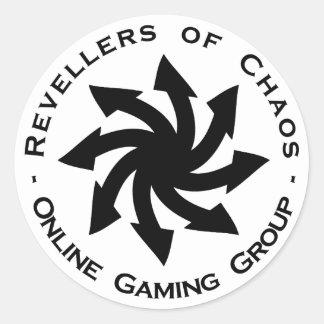 Revellers of Chaos Medallion sticker