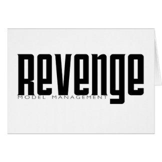 Revenge Model Management Greeting Card