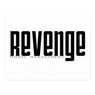 Revenge Model Management Postcard
