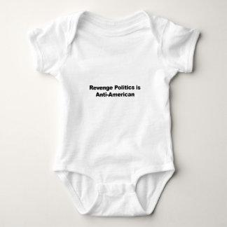 Revenge Politics is Anti-American Baby Bodysuit