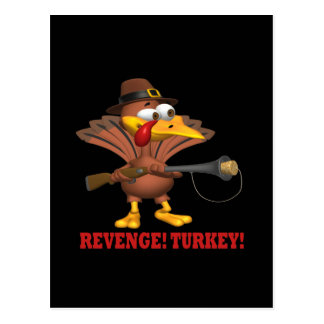 Revenge Turkey Postcard
