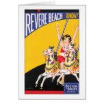 Revere Beach Sunday Greeting Card