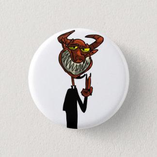 Reverend Beelzebub 3 Cm Round Badge