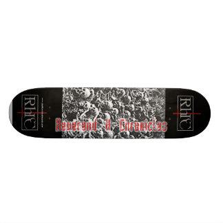 """Reverend H Chronicles """"the end"""" Skateboard"""