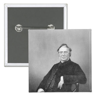 Reverend Hugh Stowell engraved by D J Pound Pin