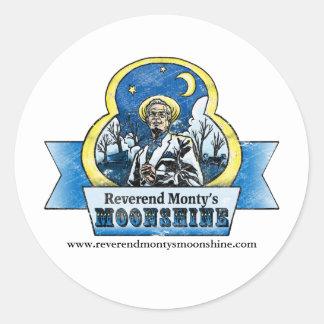 Reverend Monty Sticker