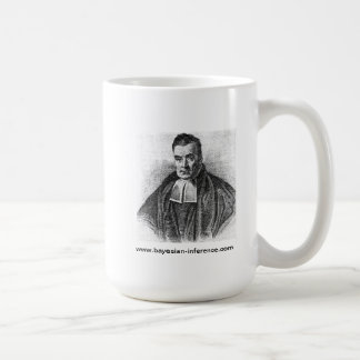Reverend Thomas Bayes Coffee Mug