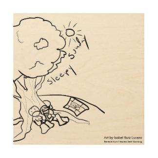 "Reverie ""Sleepy Sunday"" Wood Print"
