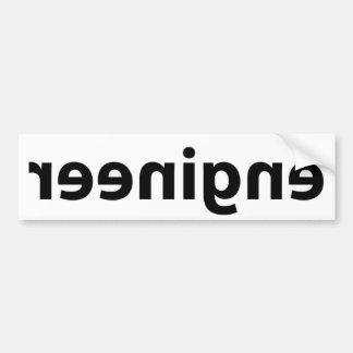 Reverse Engineer Bumper Sticker