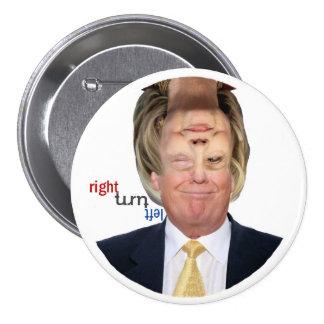Reversible 2016 for President 7.5 Cm Round Badge