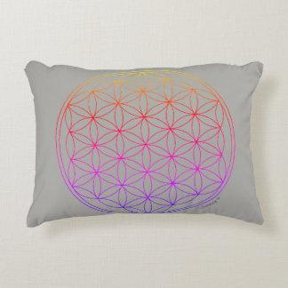 Reversible Cushion Flower OF Life and Mandala