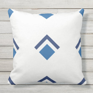 Reversible Design Throw Pillow