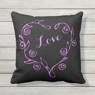 Reversible Heart Pillow
