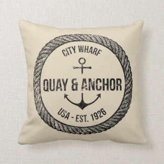 Reversible Nautical Theme Cushion