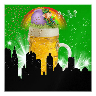 Revised Party in Style - St Patrick s Day - SRF Custom Announcements