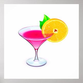 Revised Pink Cocktail Poster - SRF