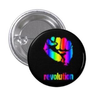 Revo Rainbow Button/Phoenix 3 Cm Round Badge