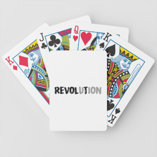 Revolt Bicycle Playing Cards