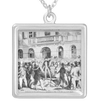 Revolt in Vienna Silver Plated Necklace