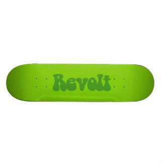 Revolt - Shades of Green Skate Board Deck