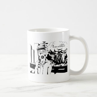 Revolution black and white basic white mug