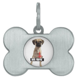 Revolution Child Dog name day, Rebel Forever' Pet Tag