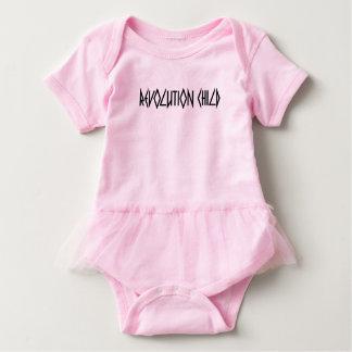Revolution Child, Forever Rebel' baby Tutu pink Baby Bodysuit