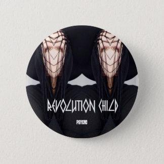 Revolution Child, Psycho' button pin