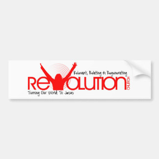 Revolution Church Bumper Sticker