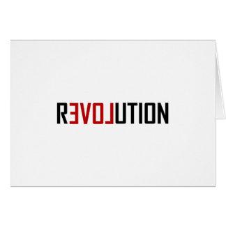 Revolution Love Art Card