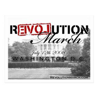 Revolution March postcard! Postcard