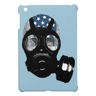 revolution protest gas mask iPad mini cases